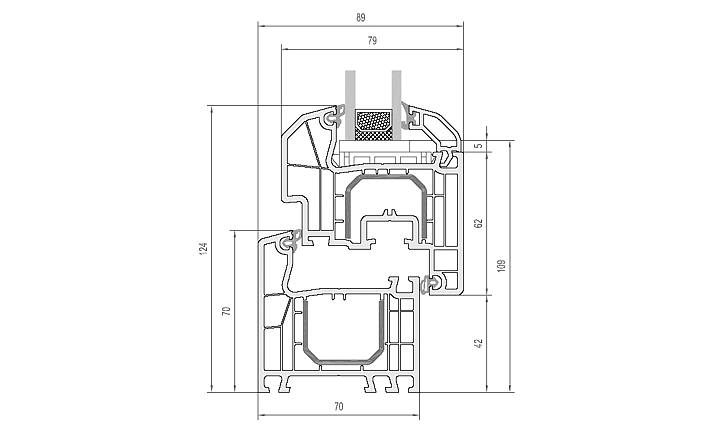 Aluplast ideal 4000 round line a 120 al mq - Scheda tecnica finestra ...