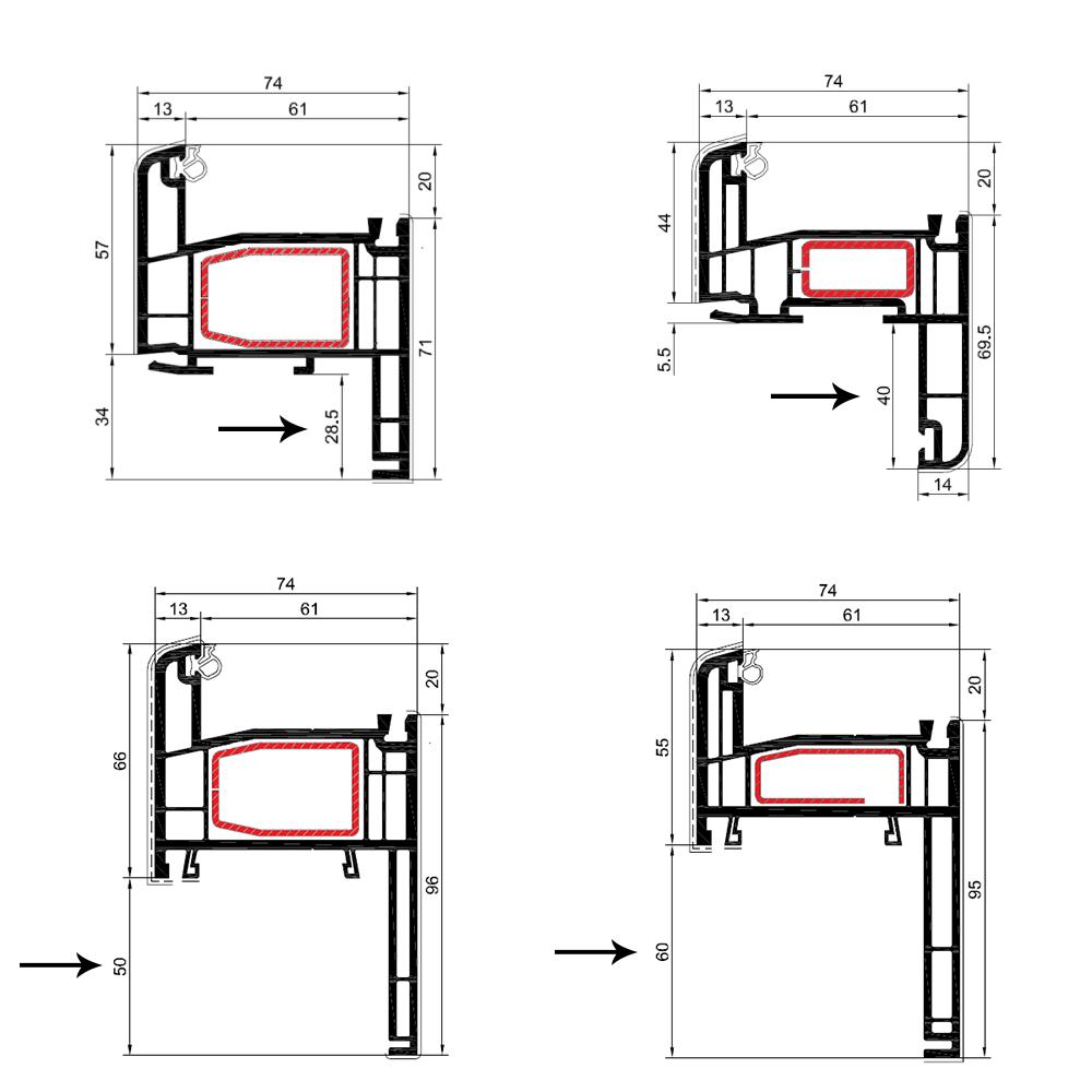 Costo infissi al mq gallery of excellent costo infissi for Costo finestre pvc mq