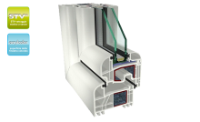 Telaio Finestra PVC GEALAN Premium