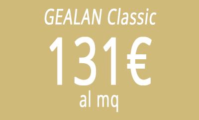 Gealan classic a 131 al mq for Prezzo finestre pvc al mq