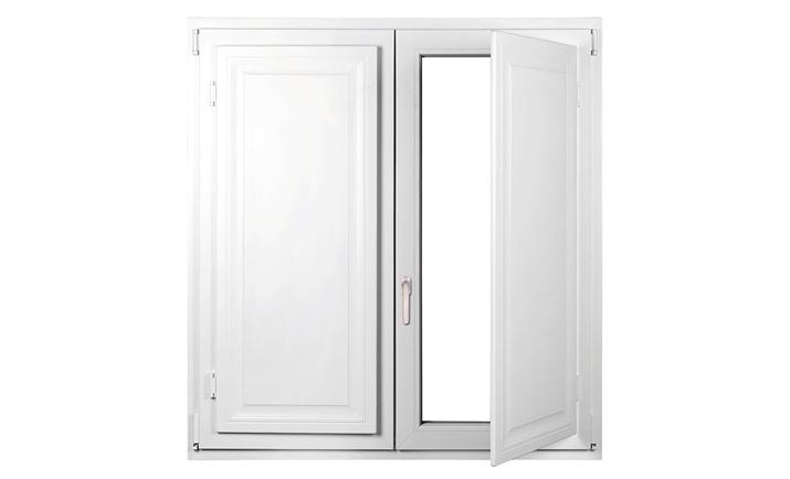 Scuri interni per finestre in legno fioriera con for Scuri in pvc prezzi