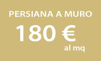 Persiana a muro a 180 al mq for Marmorino prezzo al mq